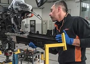Carrozzeria Crippa - Riparazione carrozzeria alluminio